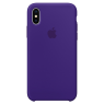 Apple iPhone X Silicone Case MQT72 Ultra Violet