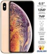 Apple iPhone Xs Max Dual SIM With FaceTime - 256GB, 4G LTE, Gold (NANO SIM+NANO SIM)