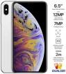 Apple iPhone Xs Max Dual SIM With FaceTime - 256GB, 4G LTE, Silver (NANO SIM+NANO SIM)
