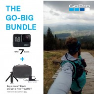 THE GO-BIG BUNDLE (GoPro Hero 7) Buy A Hero 7 Black AND Get A Free Travel KIT