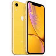 Apple iPhone Xr Dual SIM With FaceTime - 256GB, 4G LTE, Yellow (ESIM+NANO)