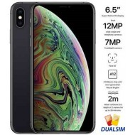 Apple iPhone Xs Max Dual SIM With FaceTime - 512GB, 4G LTE, Space Gray (NANO SIM+NANO SIM)
