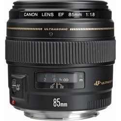 Canon EF 85mm f/1.8 USM Short-Telephoto Lens