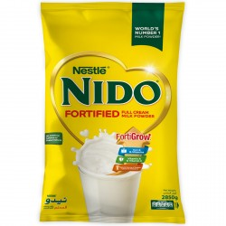 Nestlé Nido Fortified Milk Powder 2850g Pouch