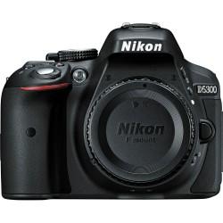 Nikon D5300 DSLR Camera with AF-P 18-55mm Lens Kit (Black)