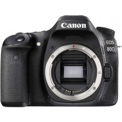 Canon EOS 80D Body Only - 24.2 MP, DSLR Camera