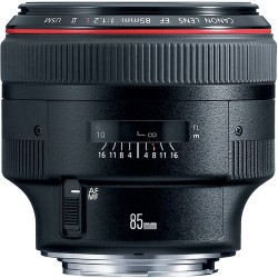 Canon EF 85mm f/1.2L II USM Short-Telephoto Lens