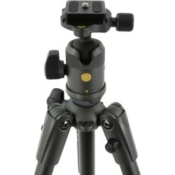 Vanguard VEO 2 204AB Aluminum Tripod with Compact Ball Head (Gray/Black, 4.4')