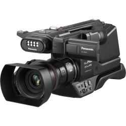 Panasonic HC-MDH3 AVCHD Shoulder Mount Camcorder with LCD Touchscreen and LED Light