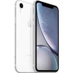 Apple iPhone Xr Dual SIM With FaceTime - 256GB, 4G LTE, White (ESIM+NANO)