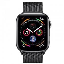 Apple Watch Series 4 MTX32 44mm Space Black Stainless Steel Case With Space Black Milanese Loop (GPS+Cellular)