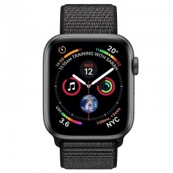 Apple Watch Series 4 MTVV2 44mm Space Gray Aluminum Case With Black Sport Loop (GPS+Cellular)