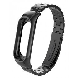 XIAOMI MI BAND 3 - Stainless Steel Bracelet Wristbands DARK GREY
