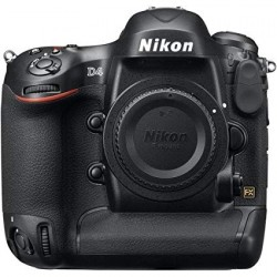 Nikon D4 Body Only (16.2 Megapixel, Digital SLR Camera, Black)