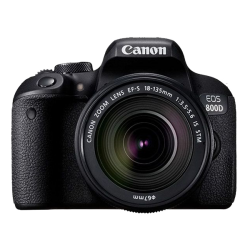 Canon EOS 800D EF-S 18-135mm F4-5.6 IS STM lens - 24.2 MP, DSLR Camera
