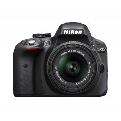 Nikon D3300 - 24.2 MP SLR Camera Black AF-P DX 18 - 55mm f/3.5 - 5.6G Lens Kit
