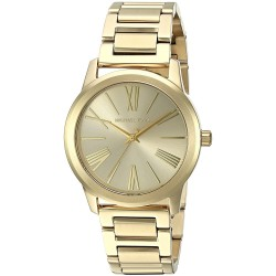 MICHAEL KORS Hartman Gold-Tone Stainless Steel Ladies Watch MK3490