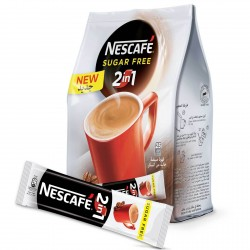 Nescafe 2IN1 Sugar Free Instant Coffee Mix Sachet 11.7g x25