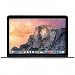 Apple MacBook MNYH2 Laptop - Intel Core m3, 1.2Ghz Dual Core, 12-Inch Retina, 256GB SSD, 8GB, English Keyboard, Mac OS Sierra, Silver - International Version