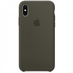 Apple iPhone X Silicone Case MR522 Dark Olive