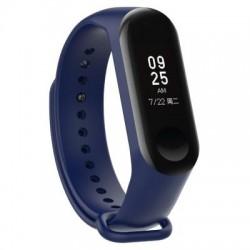 Xiaomi Mi Band 3 - Premium Silicone Fitness Tracker Wrist Strap Band-Blue