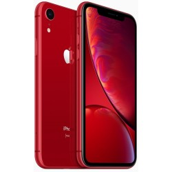 Apple iPhone Xr Dual SIM With FaceTime - 64GB, 4G LTE, (PRODUCT)RED (ESIM+NANO)