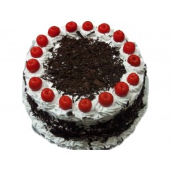 1 Kg Eggless Black Forest