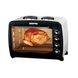 GEEPAS GO4452 Electric Oven With Rtisr/Hot Plte 59L1X1