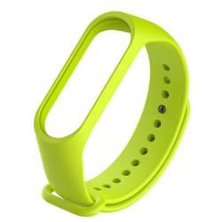 Xiaomi Mi Band 3 - Premium Silicone Fitness Tracker Wrist Strap Band-GREEN