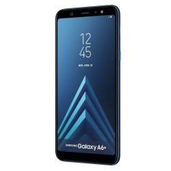 Samsung Galaxy A6 Plus Dual SIM - 64GB, 4GB RAM-Blue