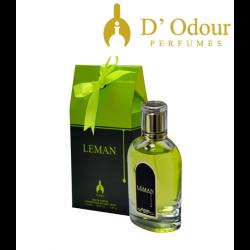 Leman 100 ml EAU DE PARFUM  POUR HOMME D'odour Perfumes