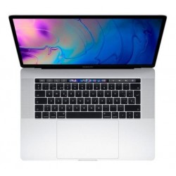 Apple MacBook Pro MR972 with Touch Bar and Touch ID Laptop -8th Gen-Intel Core i7,2.6Ghz, 15.4-Inch, 512GB SSD,16GB, 4GB VGA-Radeon Pro 560x,Eng-KB, macOS, Silver