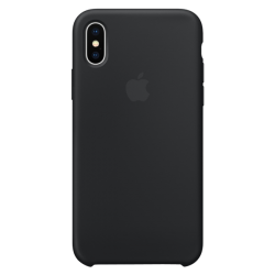 Apple iPhone X Silicone Case MQT12 Black