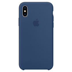 Apple iPhone X Silicone Case MQT42 Blue Cobalt