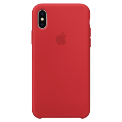 Apple iPhone X Silicone Case MQT52 Red
