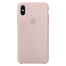 Apple iPhone X Silicone Case MQT62 Pink Sand