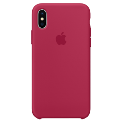 Apple iPhone X Silicone Case MQT82 Rose Red