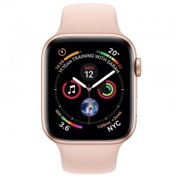 Apple Watch Series 4 MU6F2 44mm Gold Aluminum Case With Pink Sand Sport Band (GPS)