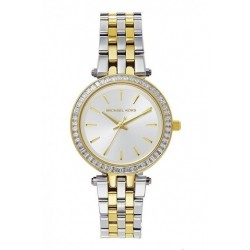 MICHAEL KORS Darci Pearl White Two-tone Ladies Watch MK3405