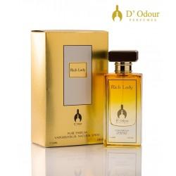 Rich Lady 60 ml POUR FEMME  D'odour Perfumes
