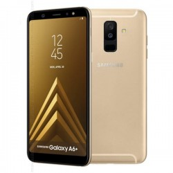 Samsung Galaxy A6 Plus Dual SIM - 64GB, 4GB RAM-Gold