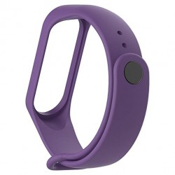Xiaomi Mi Band 3 - Premium Silicone Fitness Tracker Wrist Strap Band-VIOLET